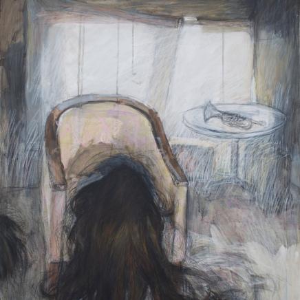 Vildtvoksende ⌘ Growing Wild 80 x 90 cm pris: 8 000 dkr