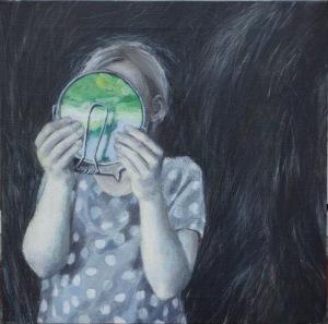 At væve håret ind i natten (dedikeret til pappa) /About To Weave The Hair Into The Night