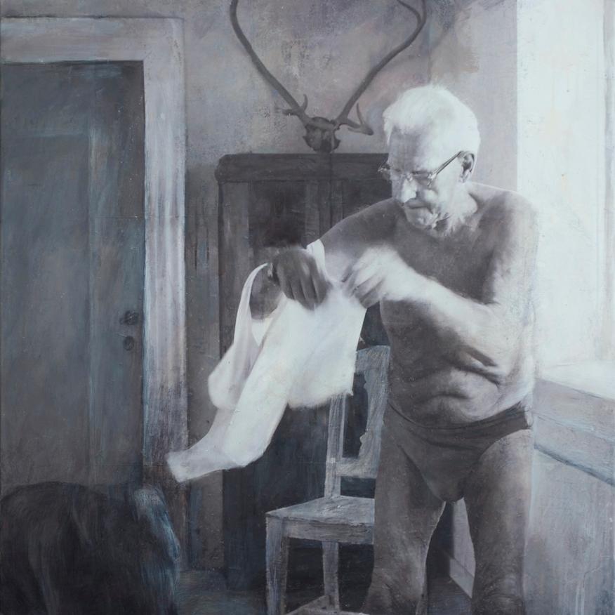 Langsomt folder morgenen sit hvide klæde om mig ⌘ Slowly folds the morning it´s white fabrics around me