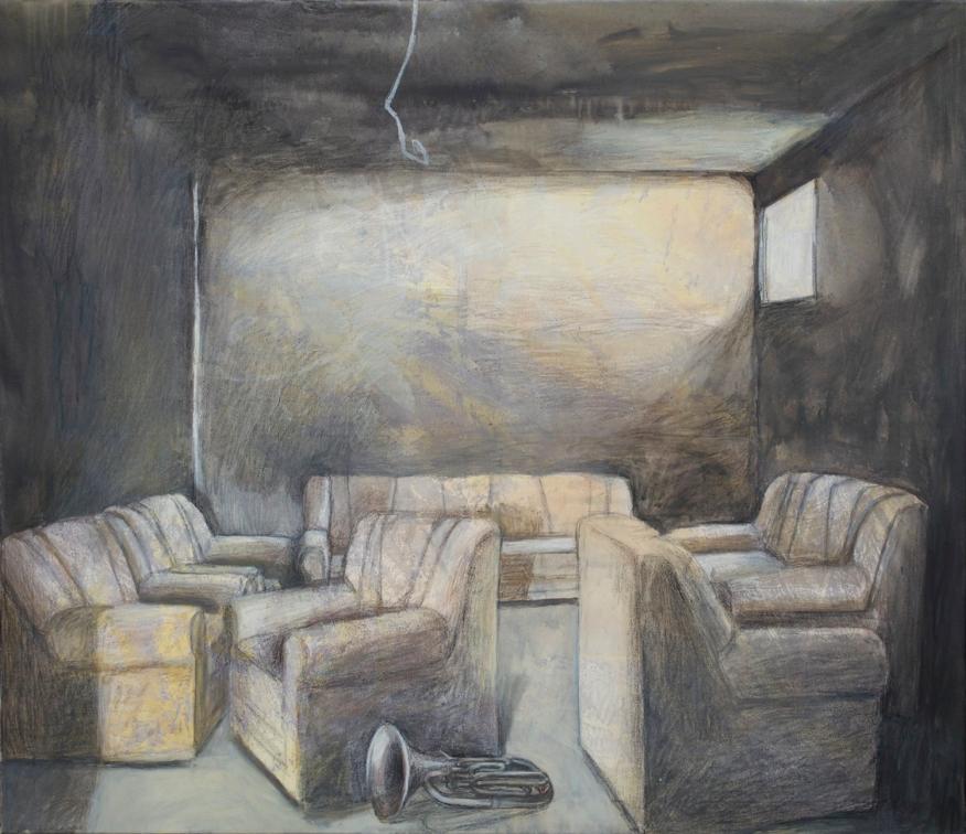 Når stolene, alle sæderne og gulvet er overladt til sig selv ⌘ When all the chairs, the seats, the floor is left to itself